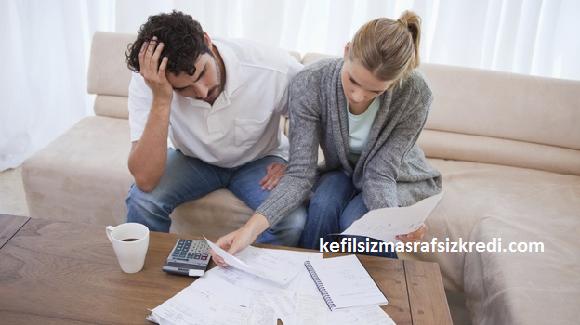 kefilsiz masrafsız kredi